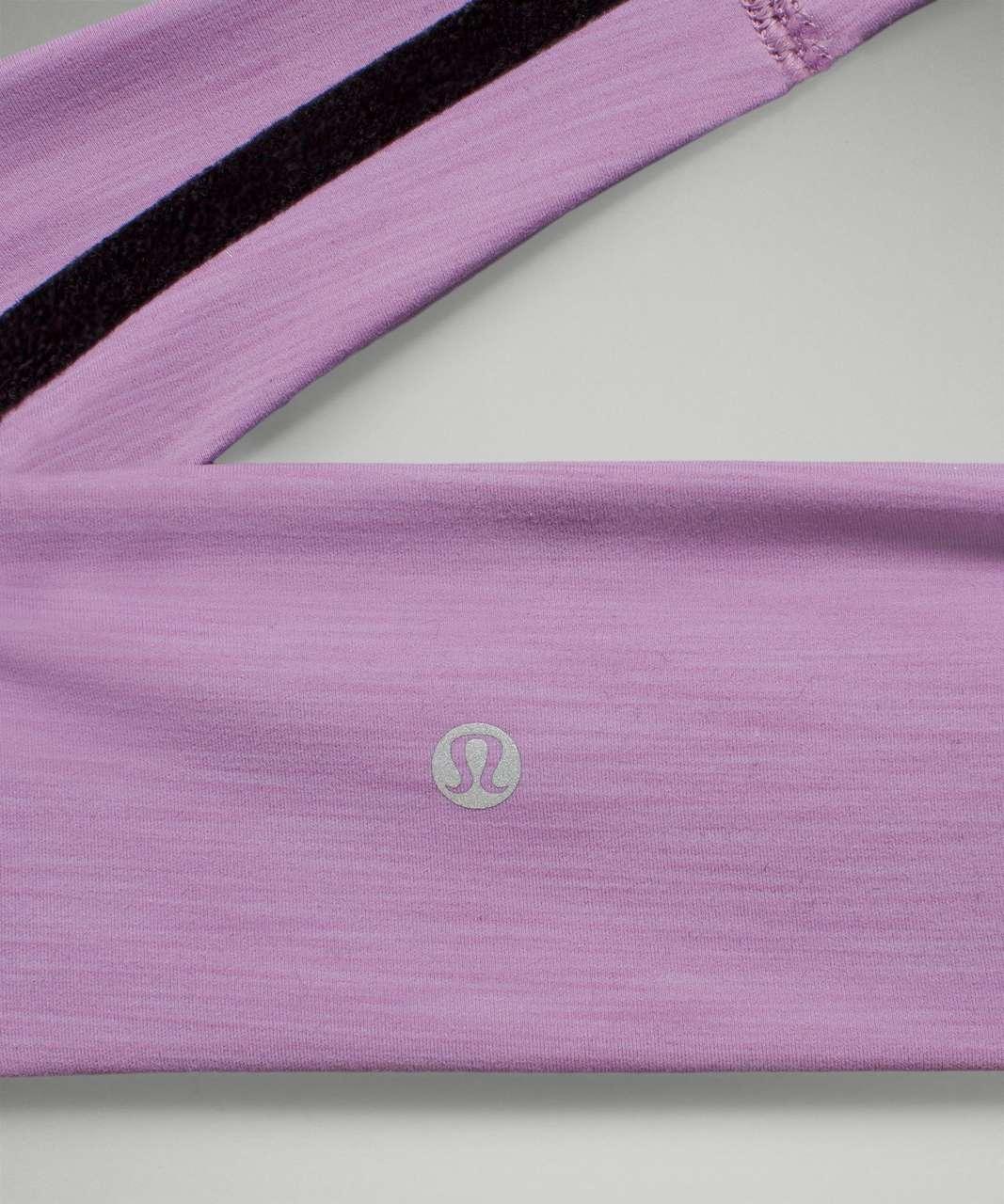 Lululemon Wunder Train Headband - Heathered Wisteria Purple