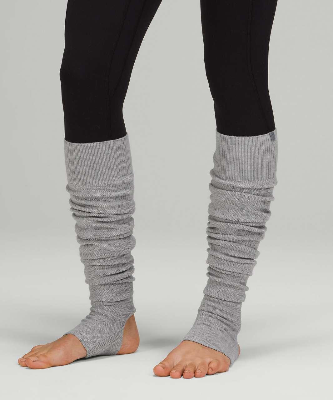 Lululemon Evolution Leg Warmer - Heathered Rhino Grey