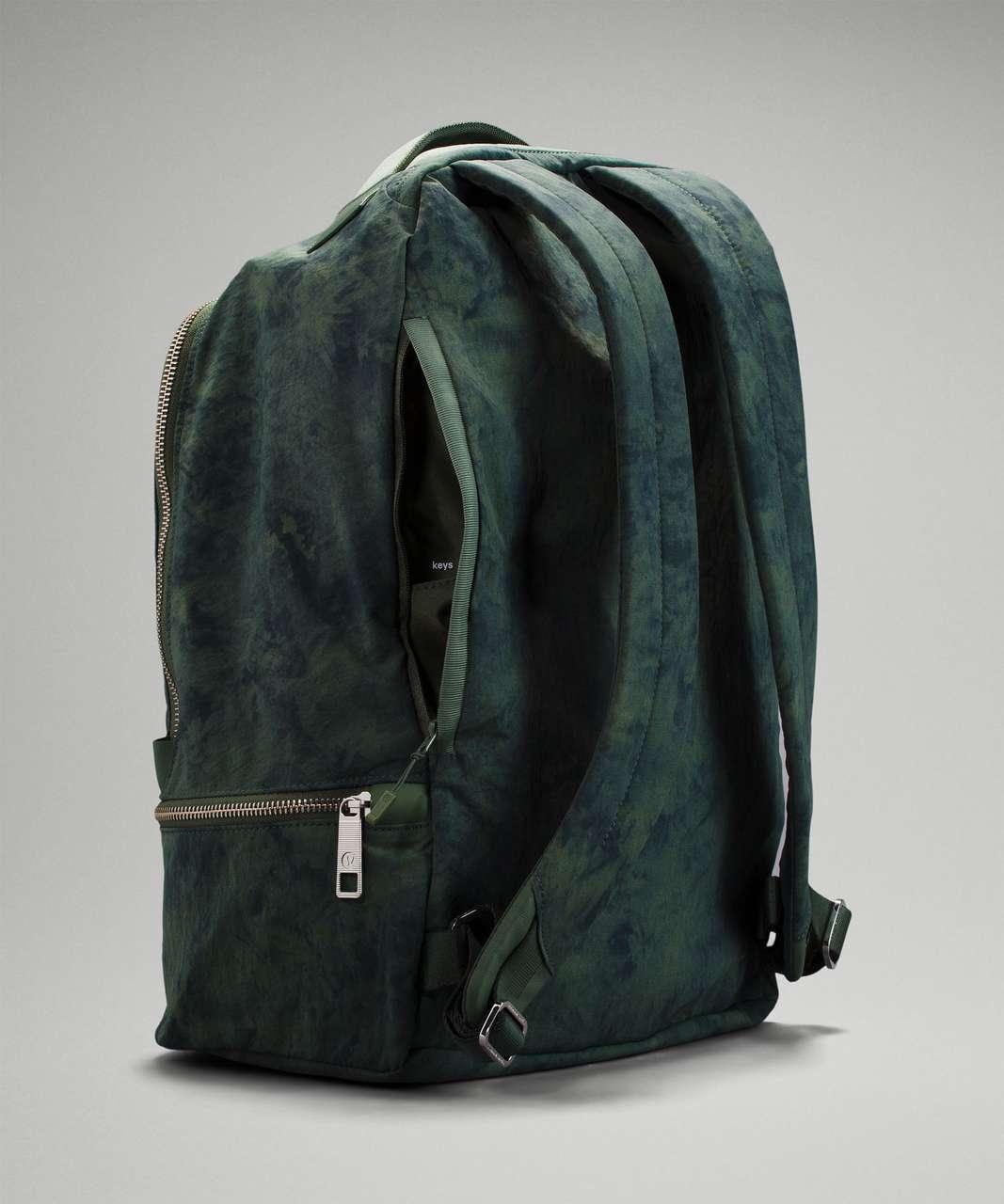 Lululemon City Adventurer Backpack 17L - Aquila Green Twill Multi