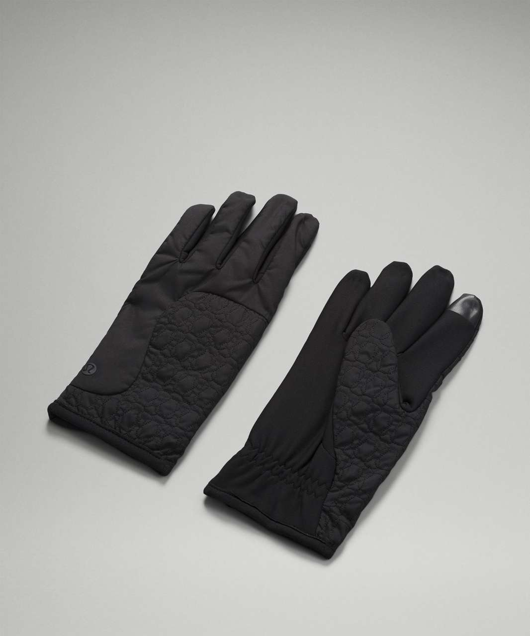 Lululemon Insulated Quilted Gloves - Black