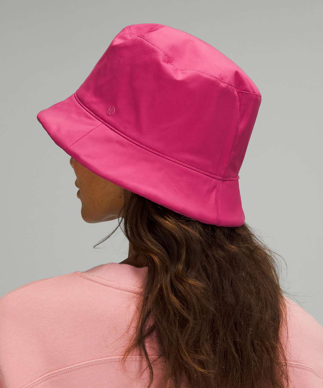 Lululemon Reversible Quilted Bucket Hat - Pink Lychee