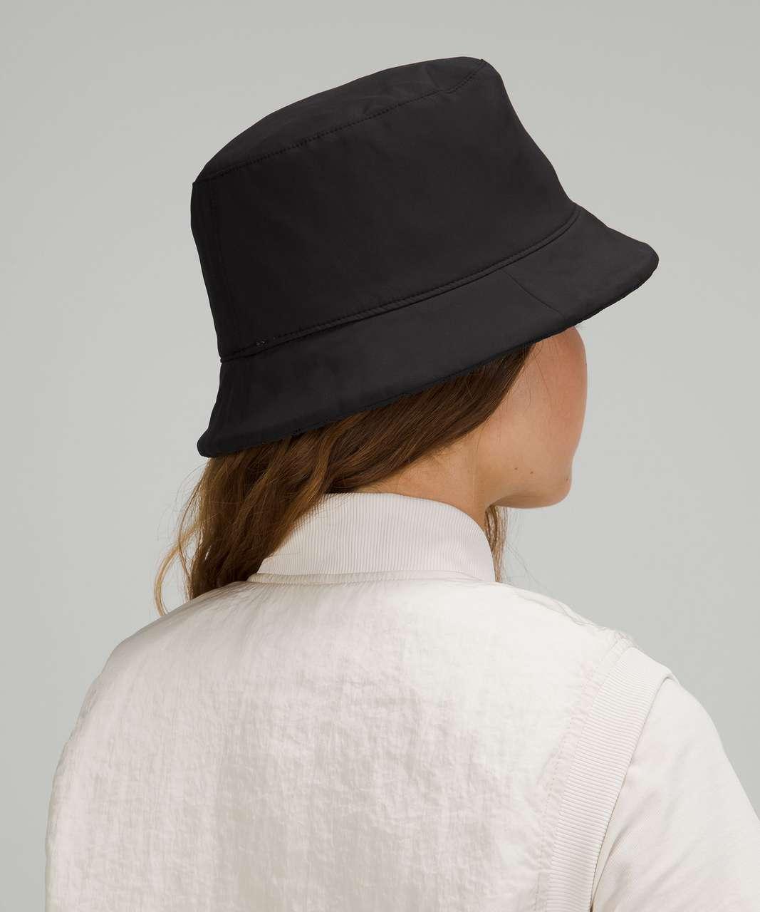 Lululemon Reversible Quilted Bucket Hat - Black