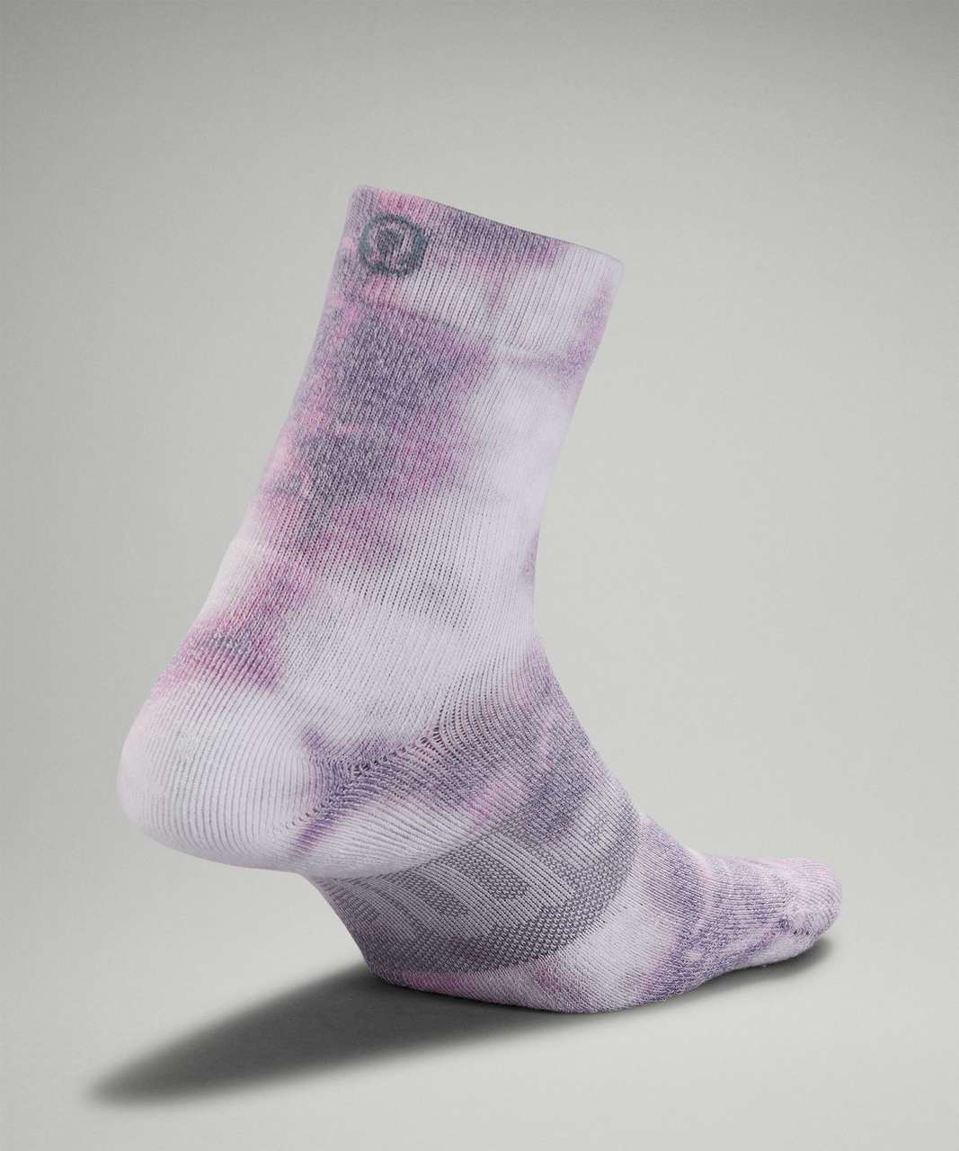 Lululemon Daily Stride Mid-Crew Tie Dye Sock - Dusky Lavender