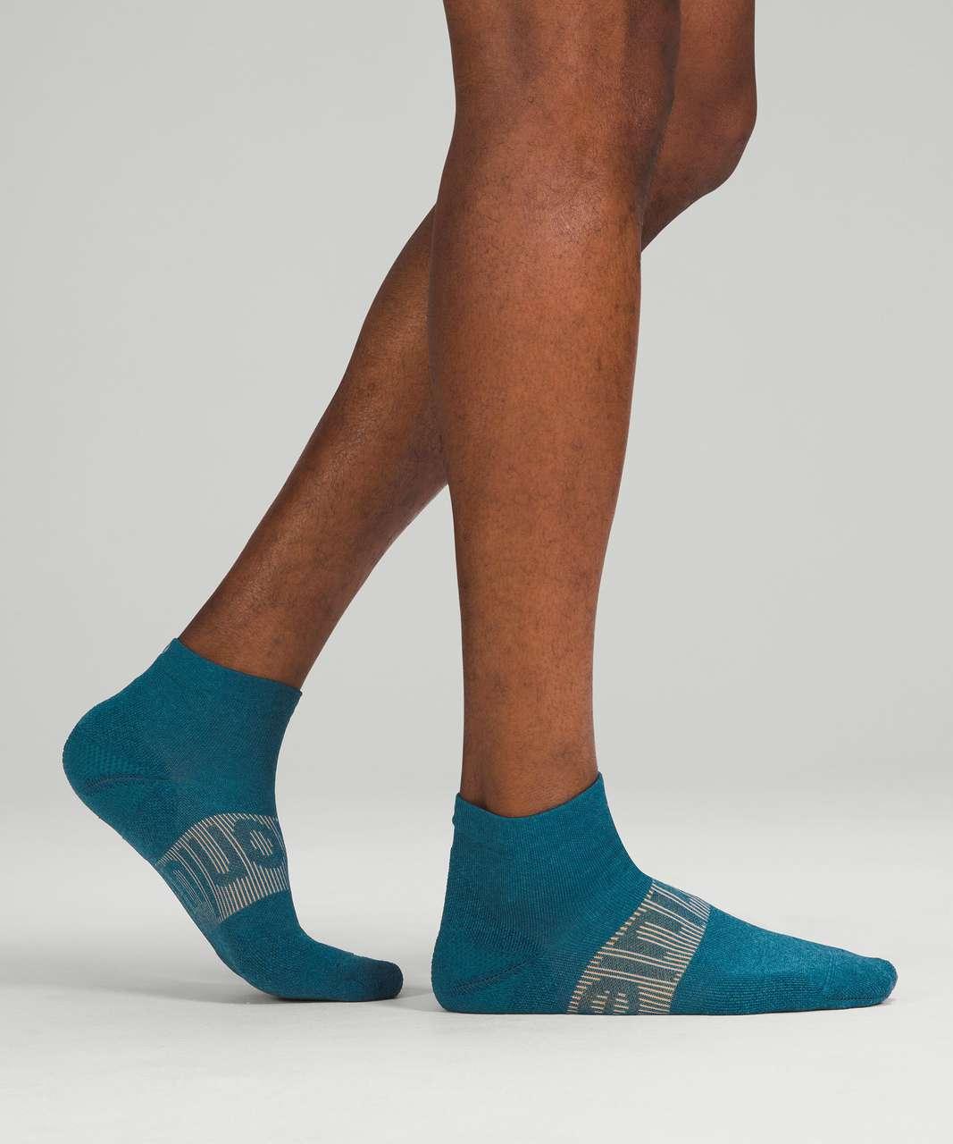 Lululemon Power Stride Ankle Sock - Capture Blue (First Release)