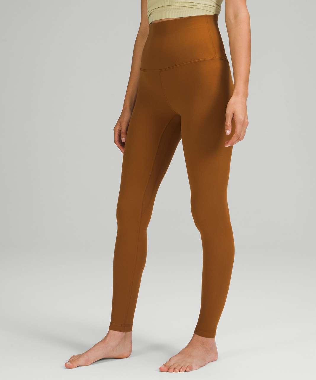 "Lululemon Align Super-High-Rise Pant 28"" - Copper Brown"