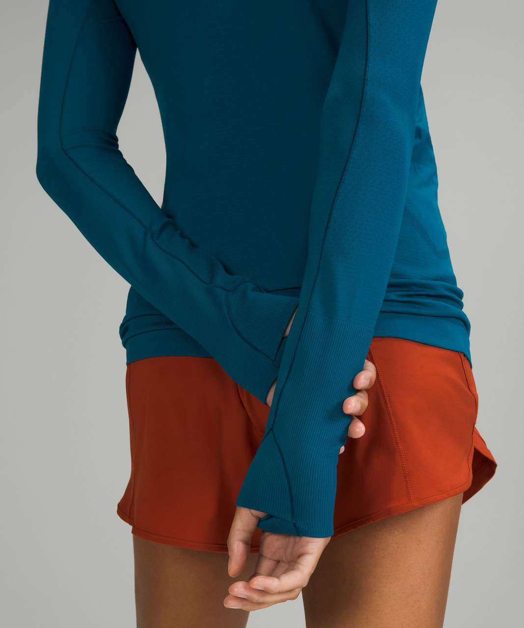 Lululemon Swiftly Tech Long Sleeve Shirt 2.0 - Capri / Capri