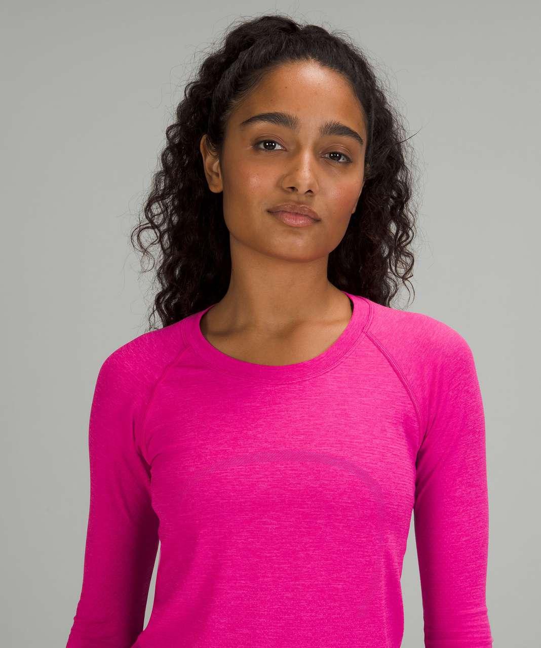 Lululemon Swiftly Tech Long Sleeve Shirt 2.0 - Pow Pink / Pow Pink
