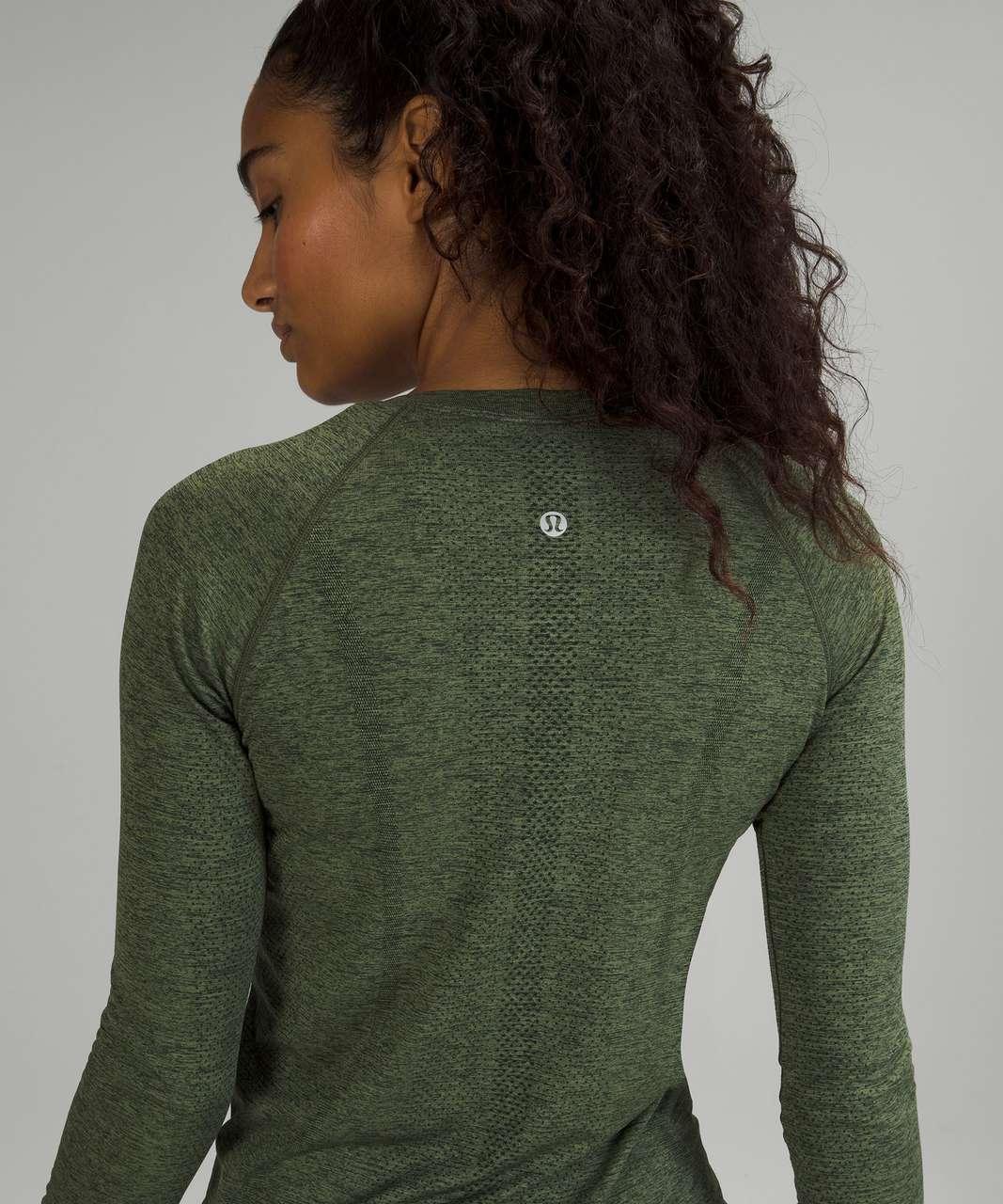 Lululemon Swiftly Tech Long Sleeve Shirt 2.0 - Rainforest Green / Green Twill