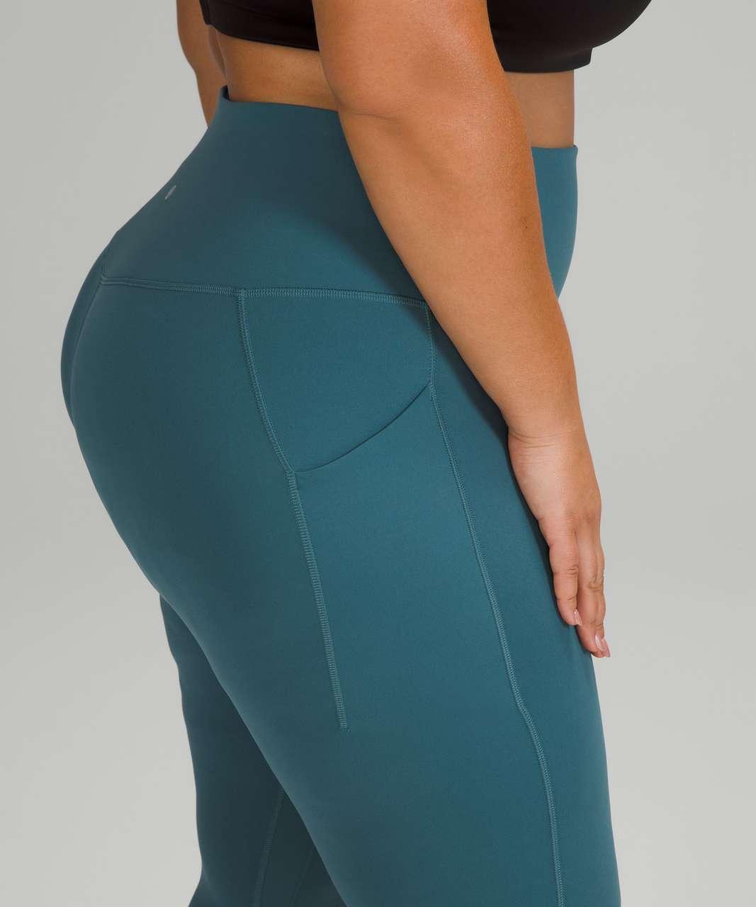 "Lululemon Align High-Rise Pant with Pockets 25"" - Capture Blue"