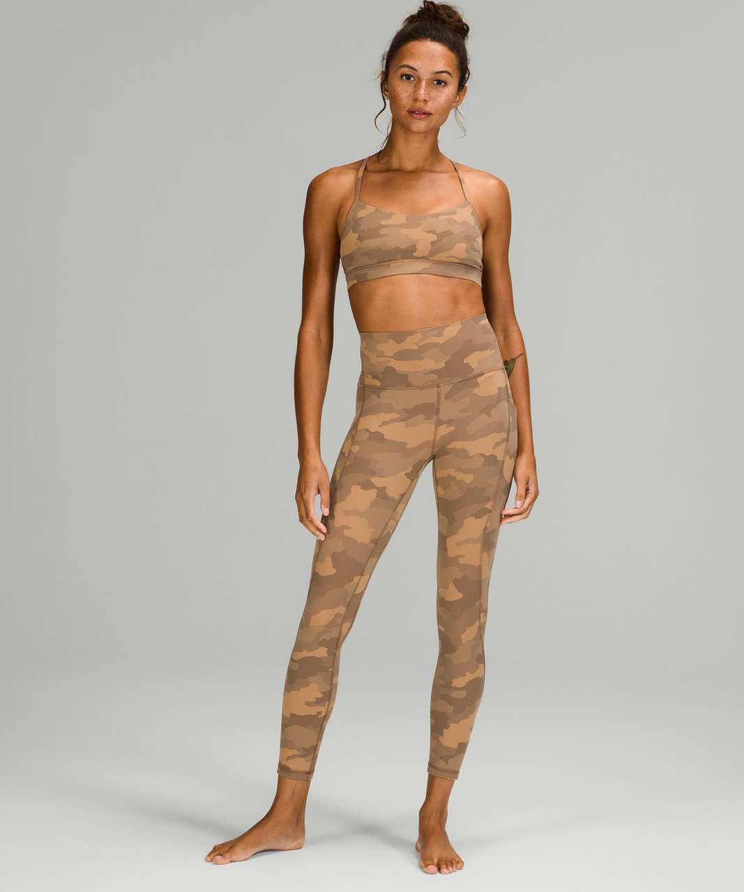 """Lululemon Align High-Rise Pant with Pockets 25"""" - Heritage 365 Camo Beige Multi"""