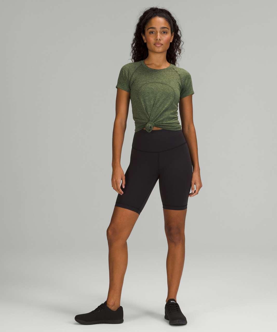 Lululemon Swiftly Tech Short Sleeve Shirt 2.0 - Rainforest Green / Green Twill