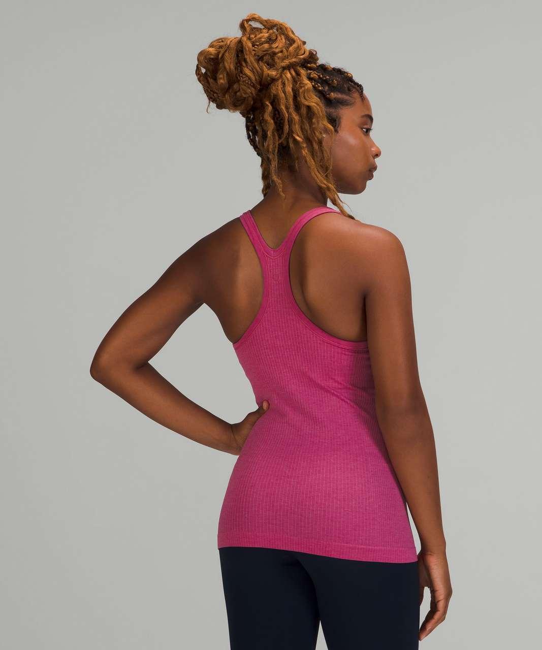 Lululemon Ebb to Street Shelf Bra Tank Top *Light Support - Pink Lychee