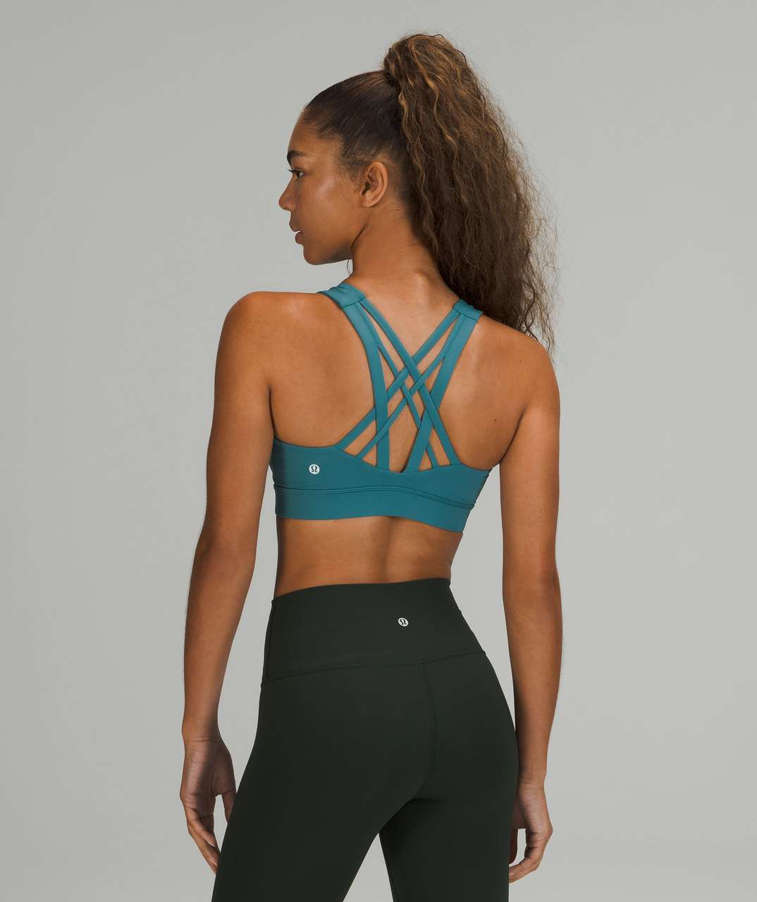 Lululemon Free To Be Elevated Bra *Light Support, DD/E Cup - Capture Blue