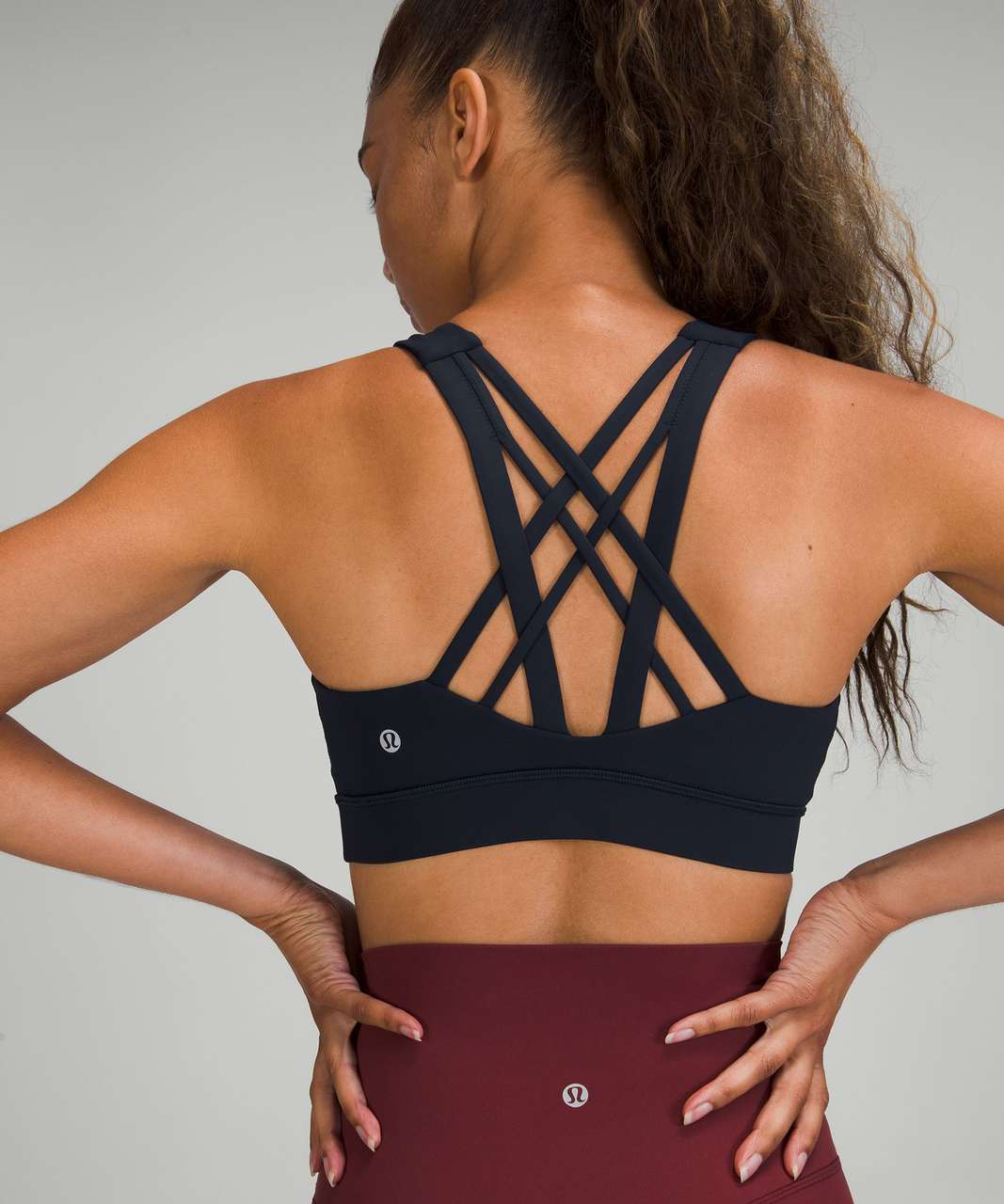 Lululemon Free To Be Elevated Bra *Light Support, DD/E Cup - True Navy