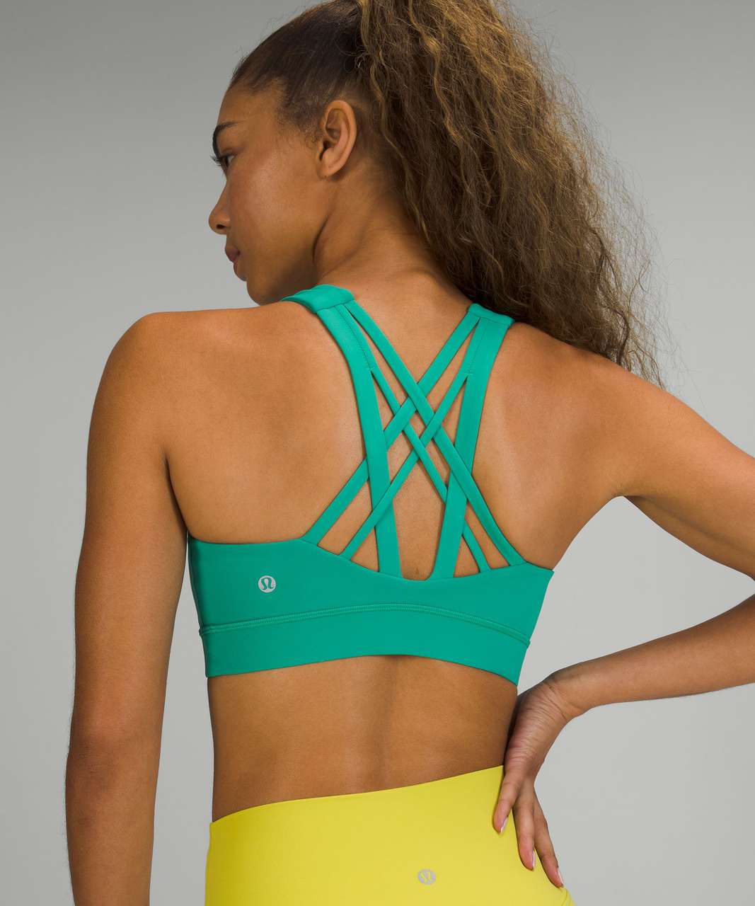 Lululemon Free To Be Elevated Bra *Light Support, DD/E Cup - Maldives Green