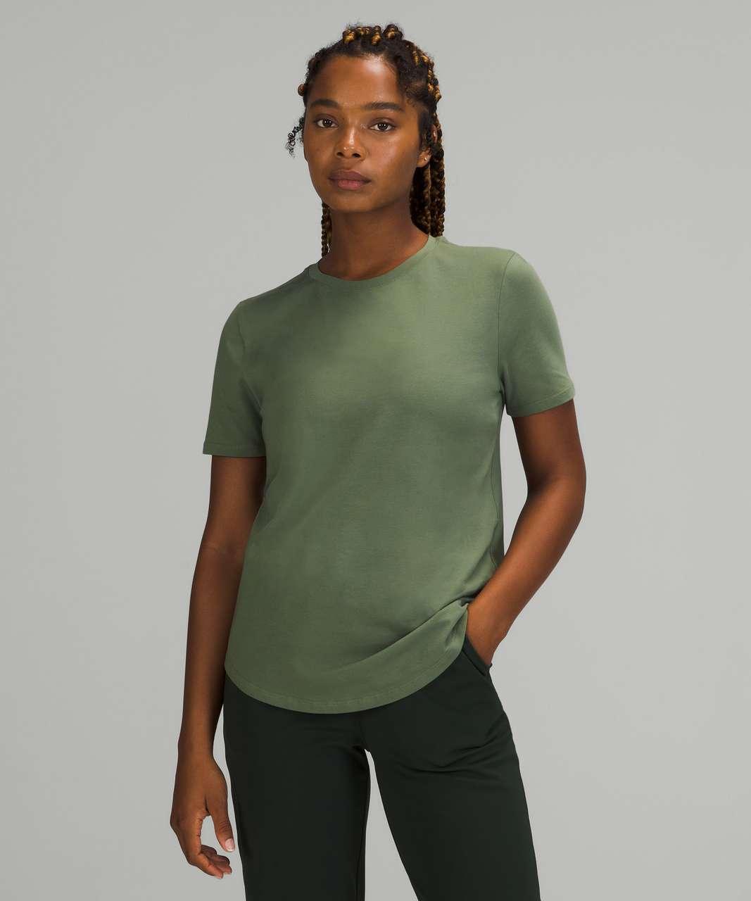 Lululemon Love Crew Short Sleeve T-Shirt - Green Twill