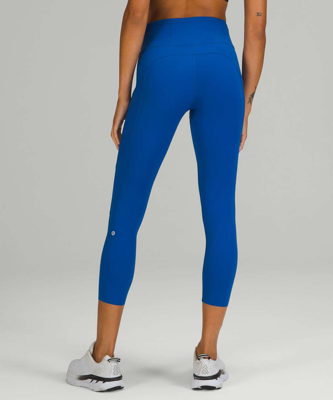 """Lululemon Fast and Free High-Rise Crop 23"""" - Symphony Blue"""
