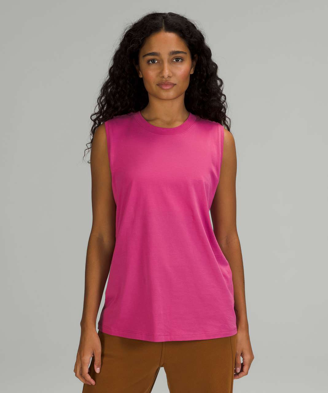 Lululemon All Yours Tank Top - Pink Lychee