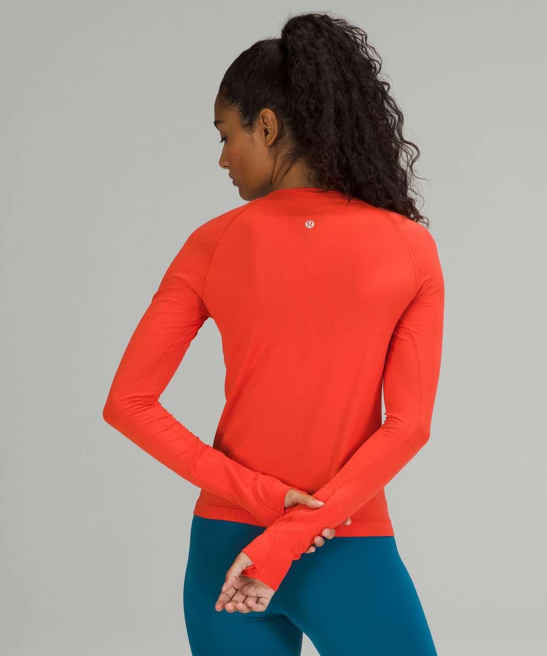 Lululemon Swiftly Tech Long Sleeve Shirt 2.0 *Race Length - Autumn Red / Autumn Red