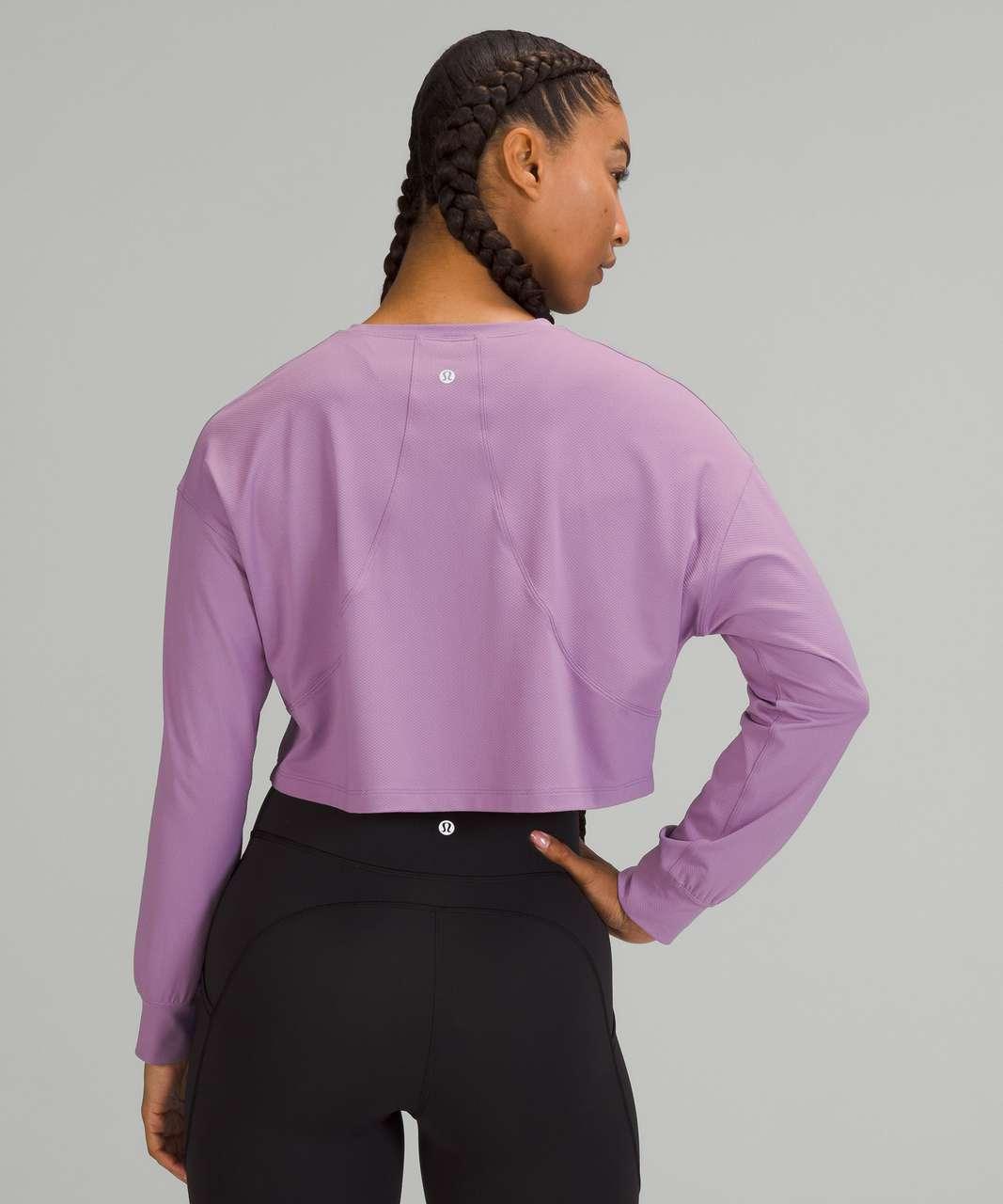 Lululemon Muscle Love Long Sleeve Shirt - Wisteria Purple