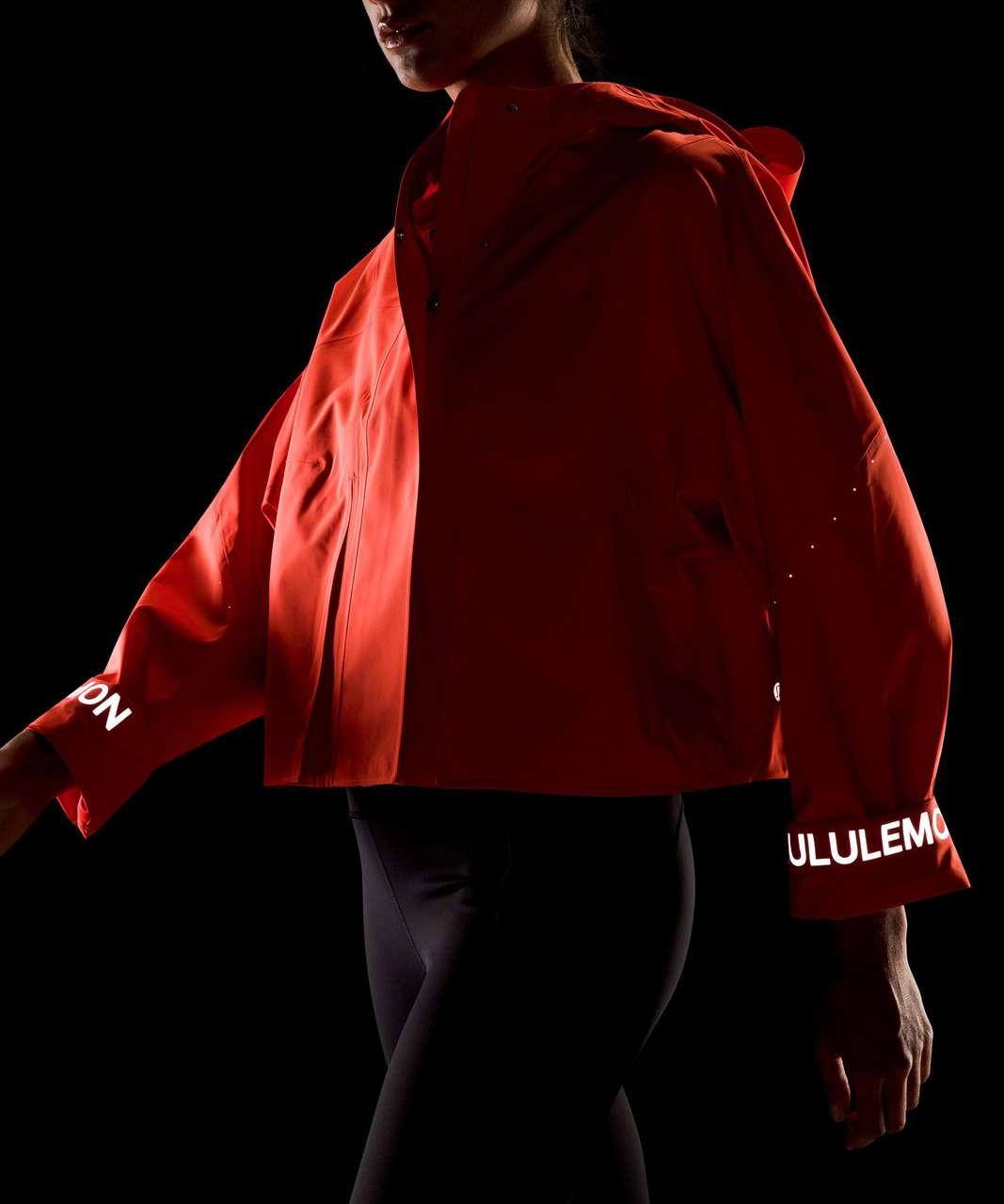 Lululemon Rain Chaser Jacket - Autumn Red