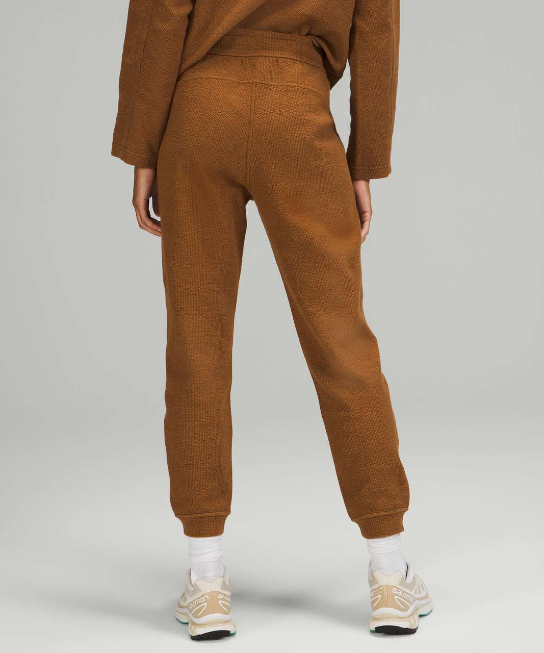 """Lululemon Ribbed High-Rise Jogger 25""""  *7/8 Length - Heathered Copper Brown"""