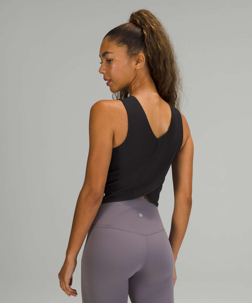 Lululemon Nulu Twist-Back Yoga Tank Top - Black