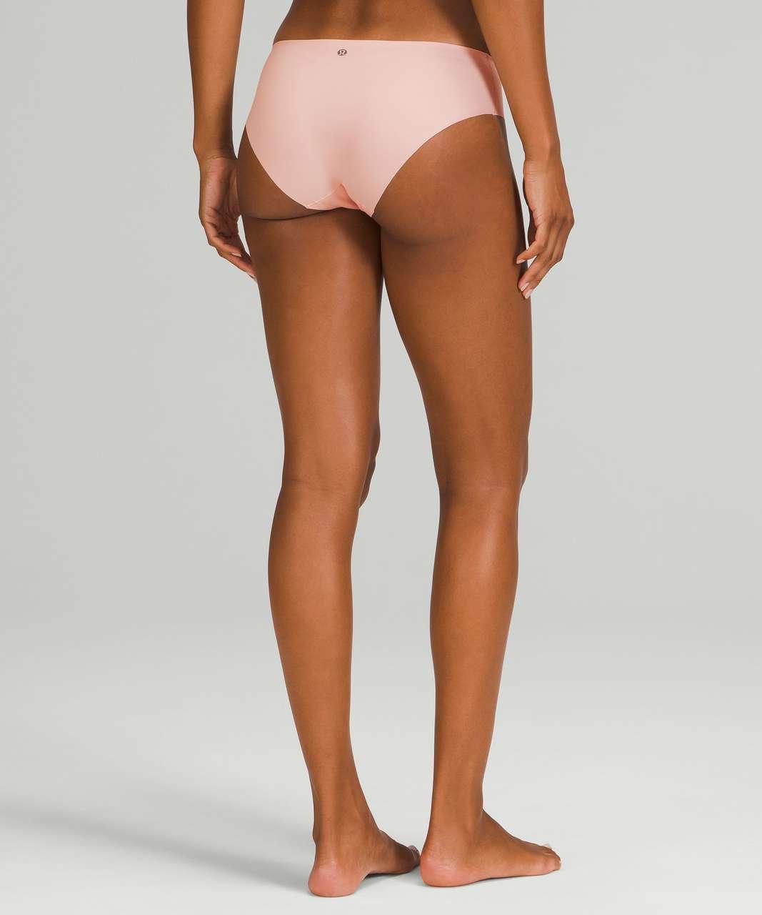 Lululemon InvisiWear Mid Rise Bikini Underwear 3 Pack - Heritage 365 Camo Mini Rotated Pecan Tan Multi / Pink Mist / Black