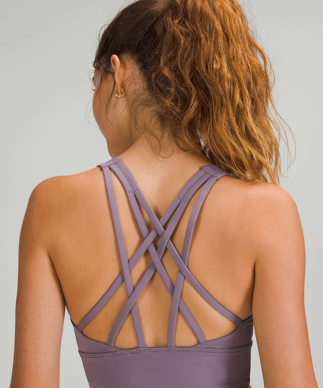 Lululemon Free to Be Serene Bra Longline *Light Support, C/D Cup - Dusky Lavender