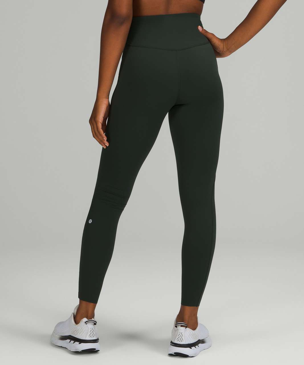 """Lululemon Base Pace High-Rise Tight 28"""" *Brushed - Rainforest Green"""