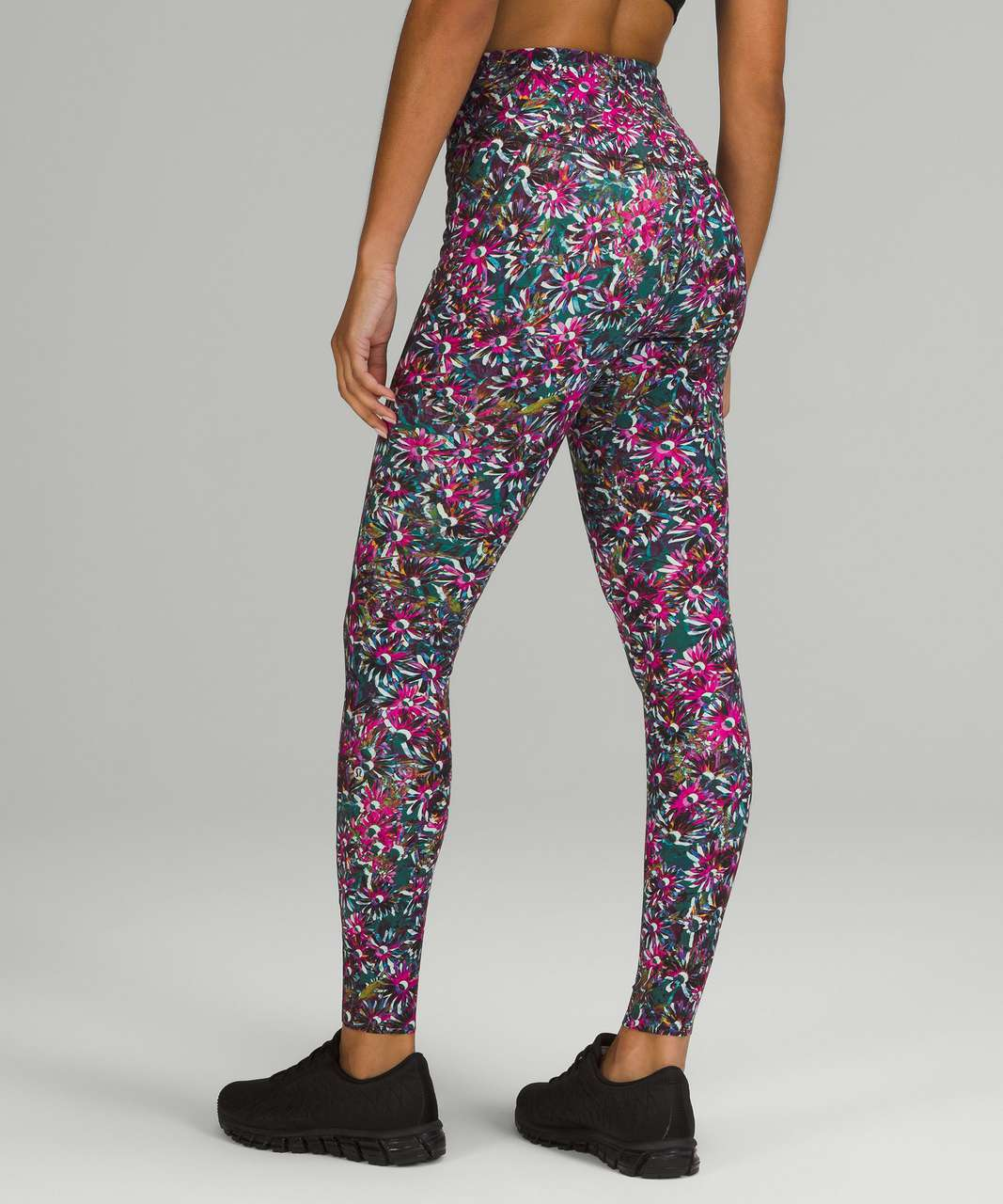 """Lululemon Base Pace High-Rise Tight 28"""" *Brushed - Floral Electric Multi"""