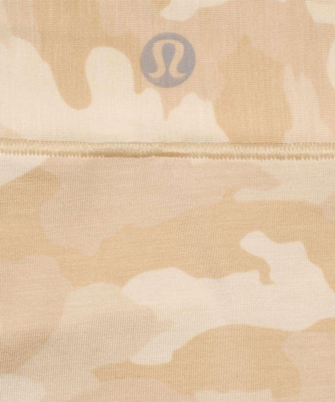 Lululemon UnderEase Mid Rise Bikini Underwear 3 Pack - Heritage 365 Camo Mini Pecan Tan Multi / Pink Mist / Black