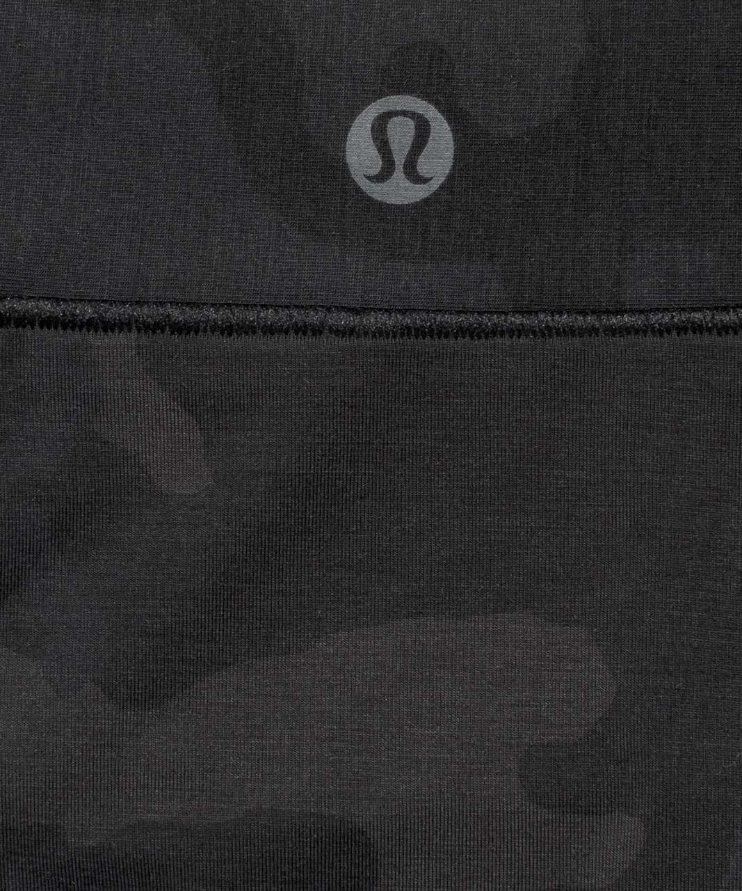 Lululemon UnderEase Mid Rise Bikini Underwear - Incognito Camo Multi Grey