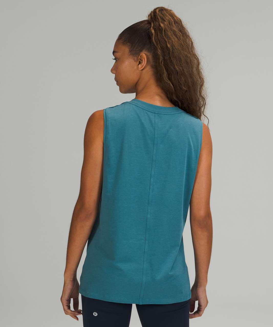 Lululemon All Yours Tank Top *Graphic - Capture Blue