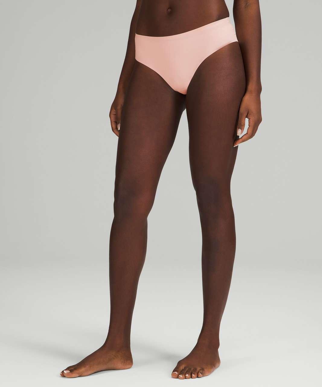 Lululemon InvisiWear Mid Rise Cheeky Bikini Underwear 3 Pack - Heritage 365 Camo Mini Rotated Pecan Tan Multi / Pink Mist / Black