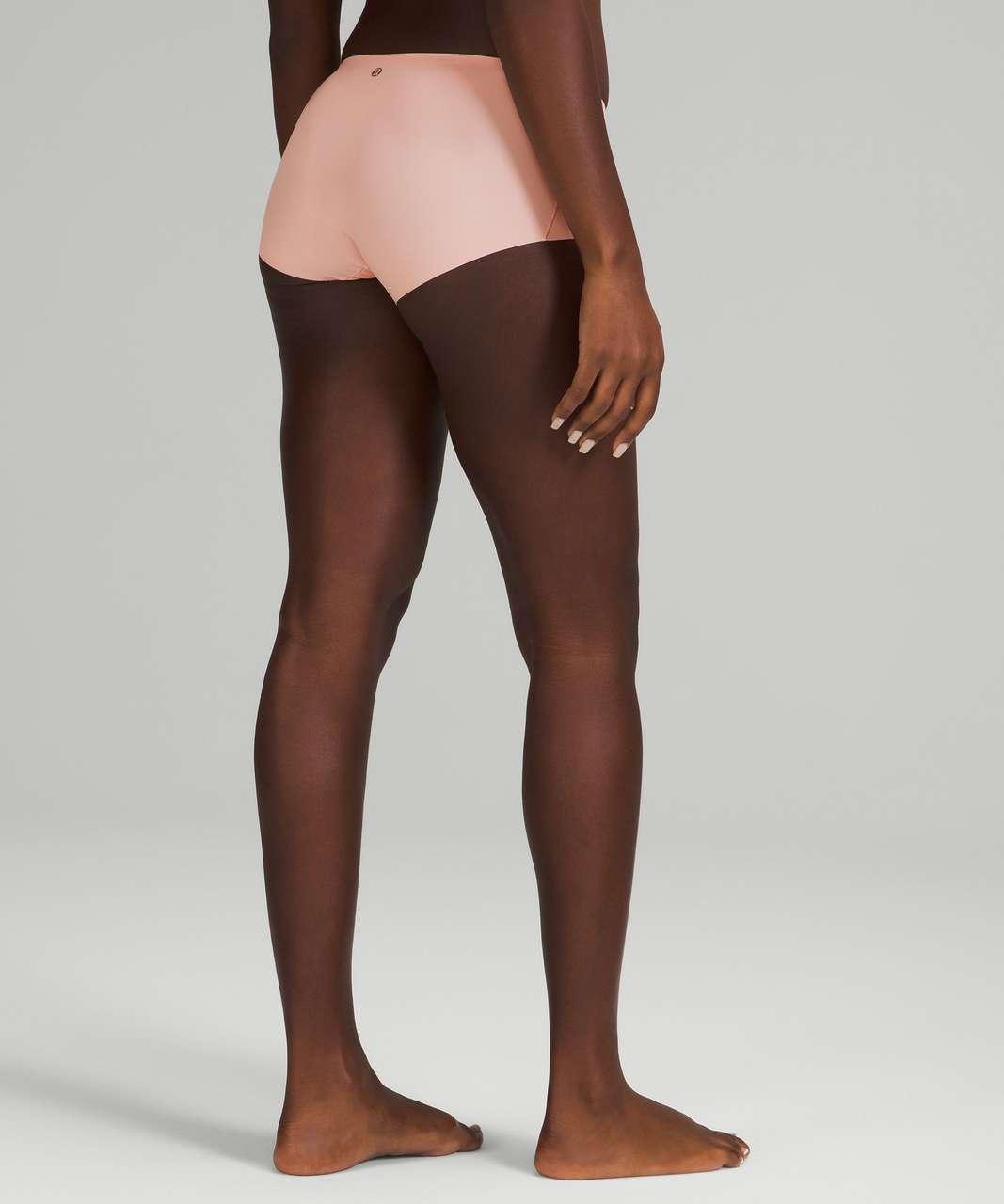 Lululemon InvisiWear Mid Rise Boyshort Underwear 3 Pack - Heritage 365 Camo Mini Rotated Pecan Tan Multi / Pink Mist / Black
