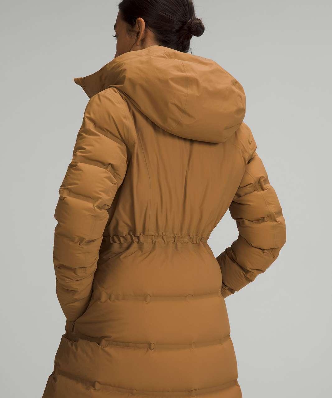 Lululemon Sleet Street Long Jacket - Bold Beige