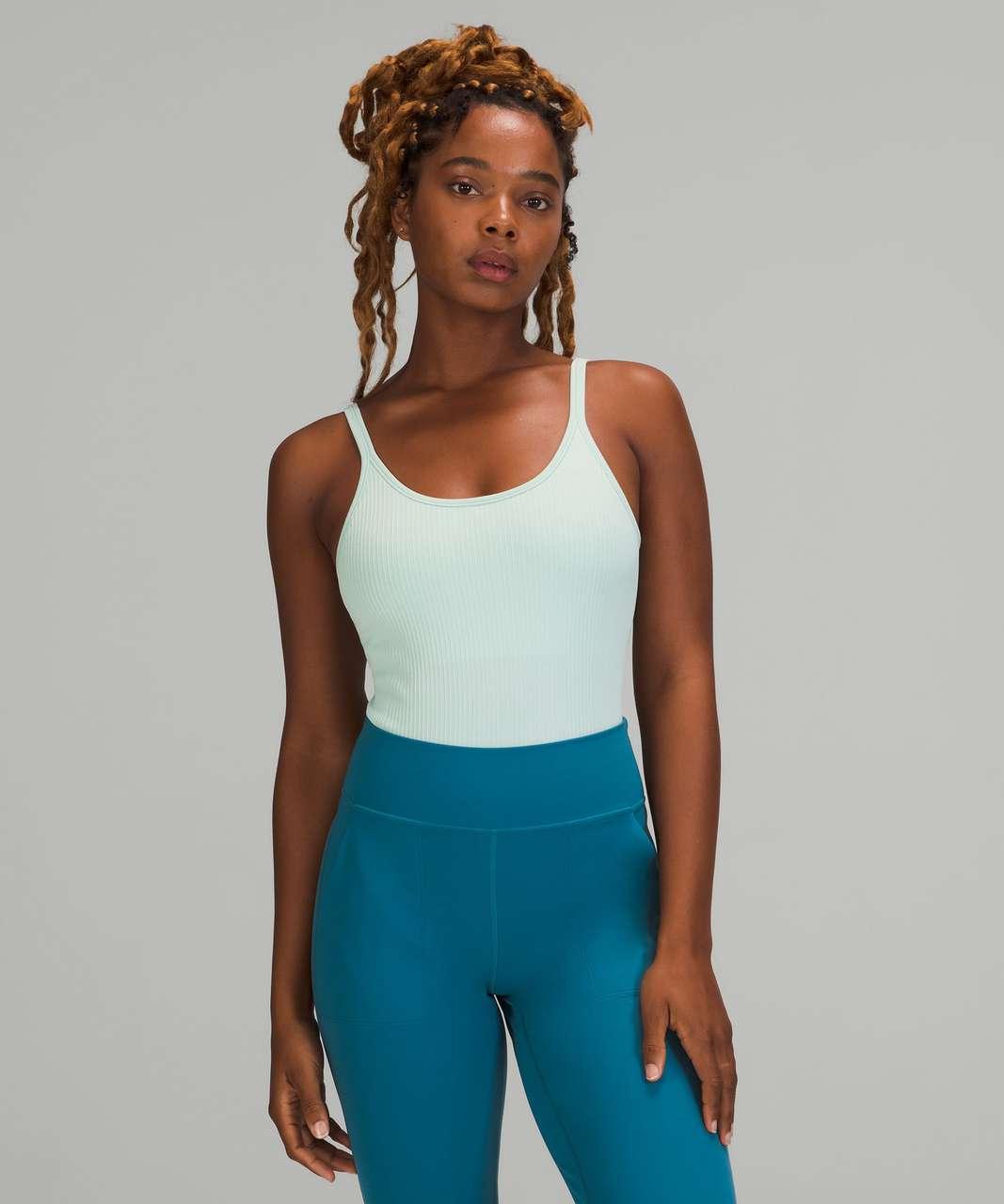 Lululemon Ebb to Street Bodysuit *Light Support, B/C Cups - Delicate Mint