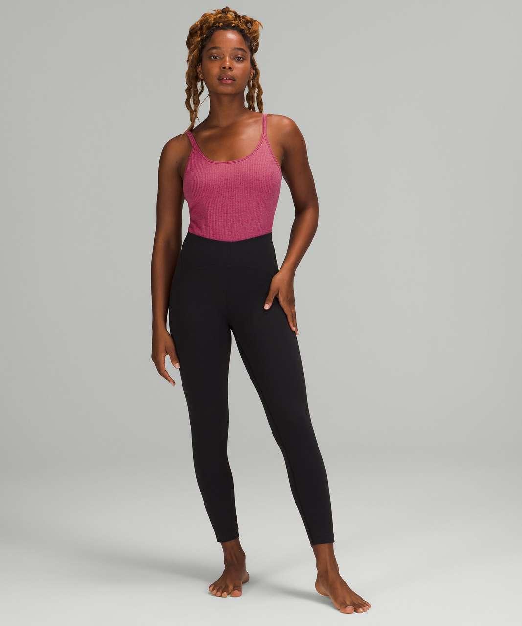 Lululemon Ebb to Street Bodysuit *Light Support, B/C Cups - Pink Lychee
