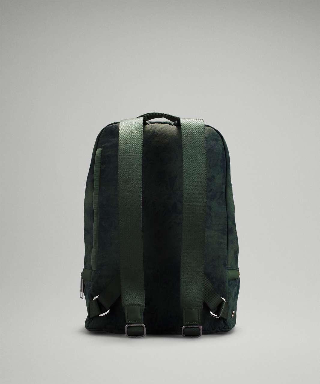 Lululemon City Adventurer Backpack 10L - Aquila Green Twill Multi