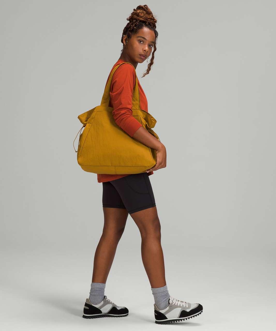 Lululemon Side-Cinch Shopper Bag *18L - Gold Spice