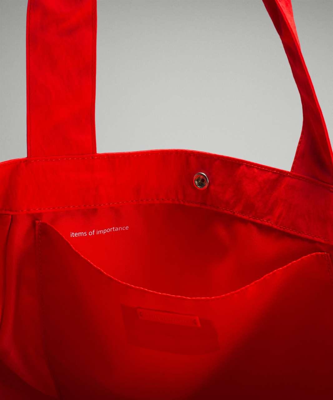 Lululemon Side-Cinch Shopper Bag *18L - Autumn Red