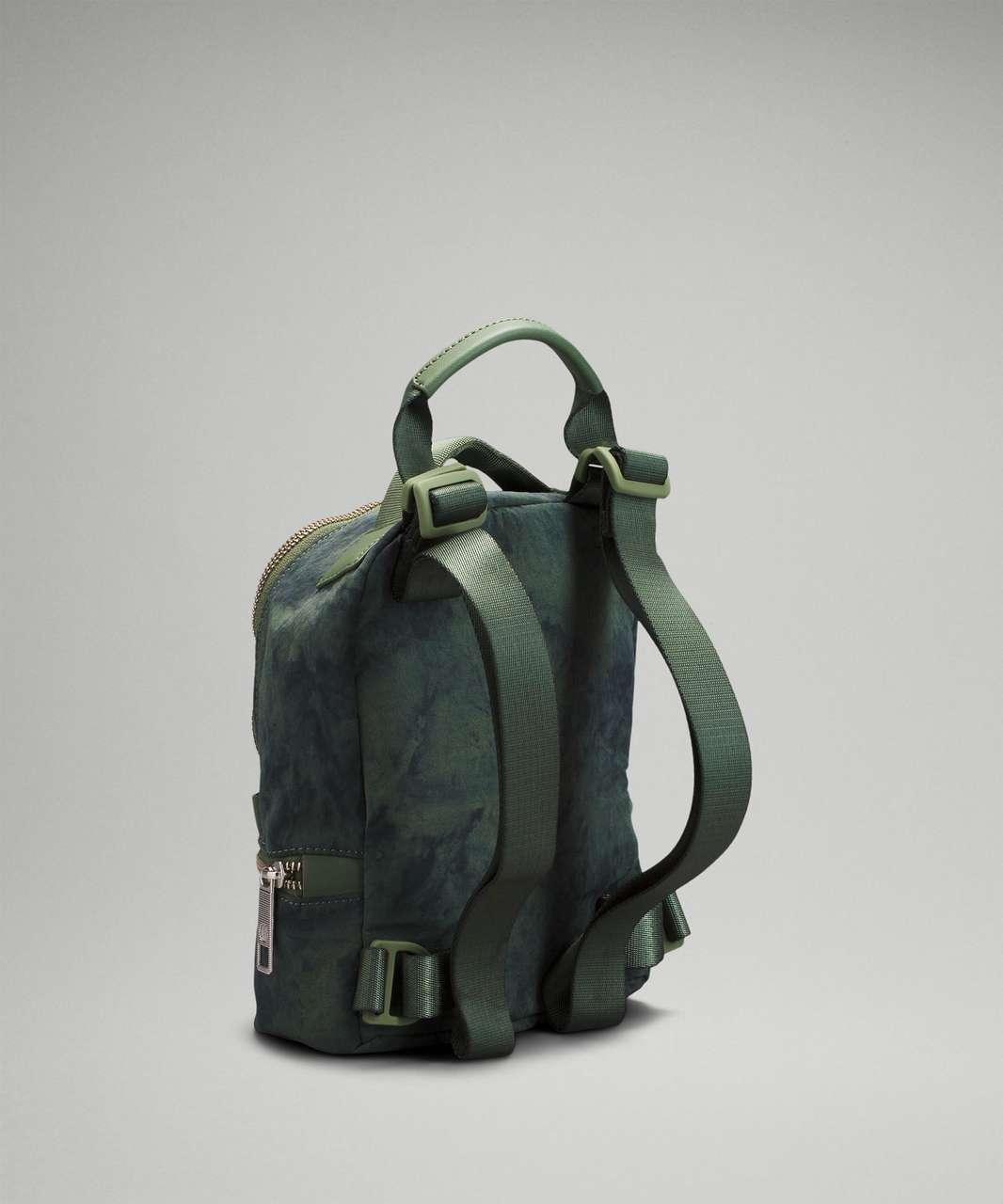 Lululemon City Adventurer Backpack Micro 3L - Aquila Green Twill Multi