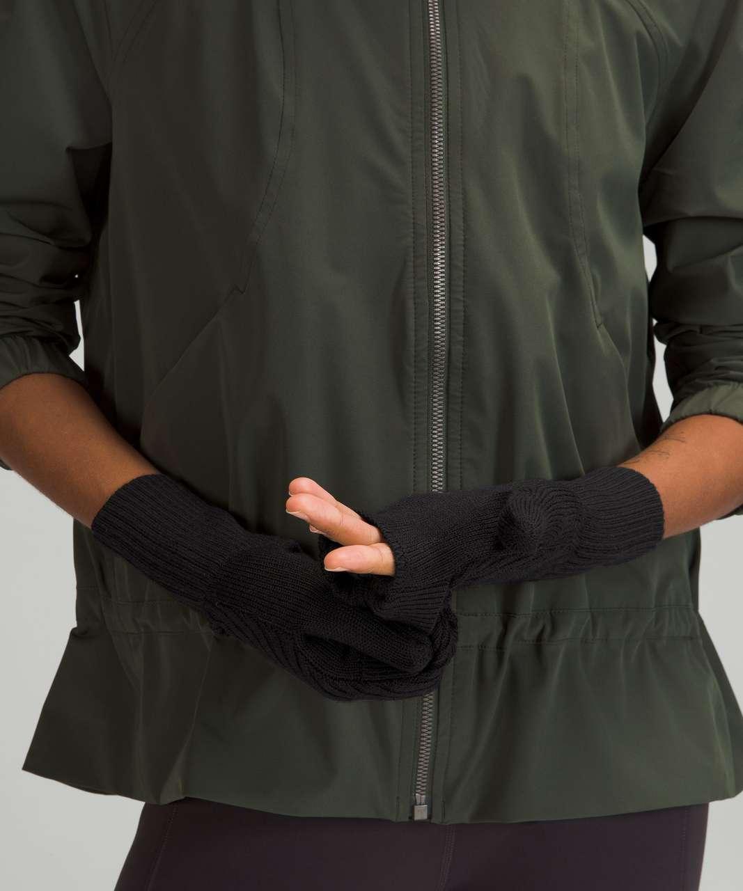 Lululemon Twist Knit Mittens - Black