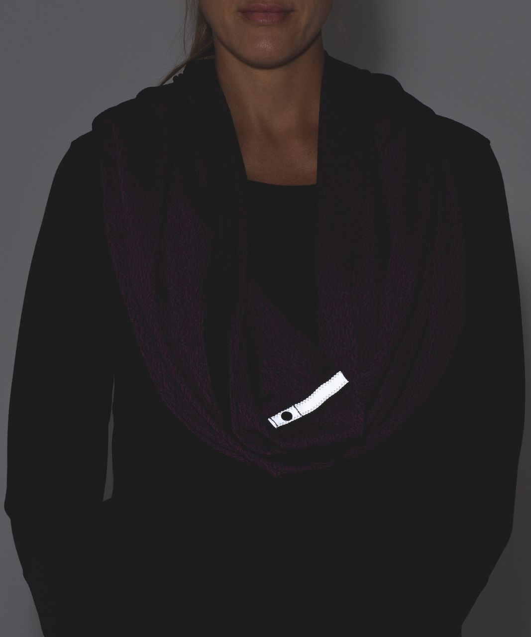 Lululemon Vinyasa Wrap - Running Luon Spray Jacquard Aurora Black / Black