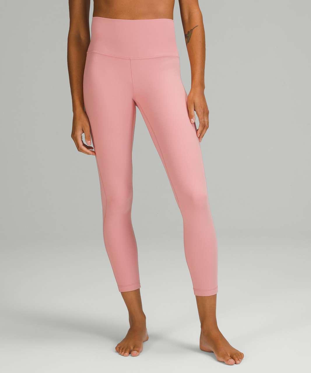 "Lululemon Align High-Rise Pant 25"" - Pink Puff"