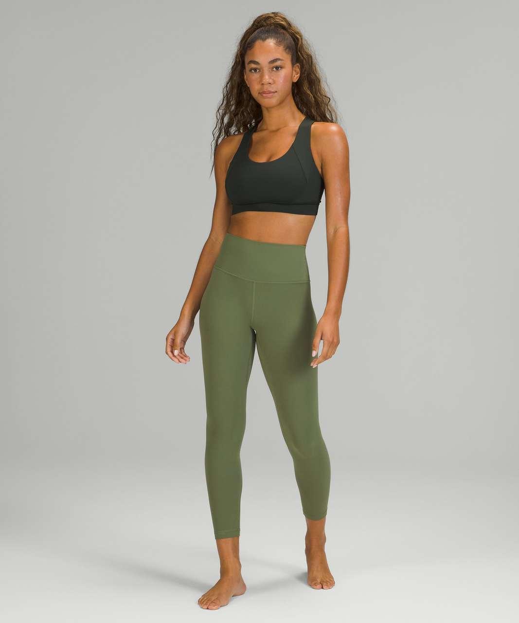 "Lululemon Align High-Rise Pant 25"" - Green Twill"
