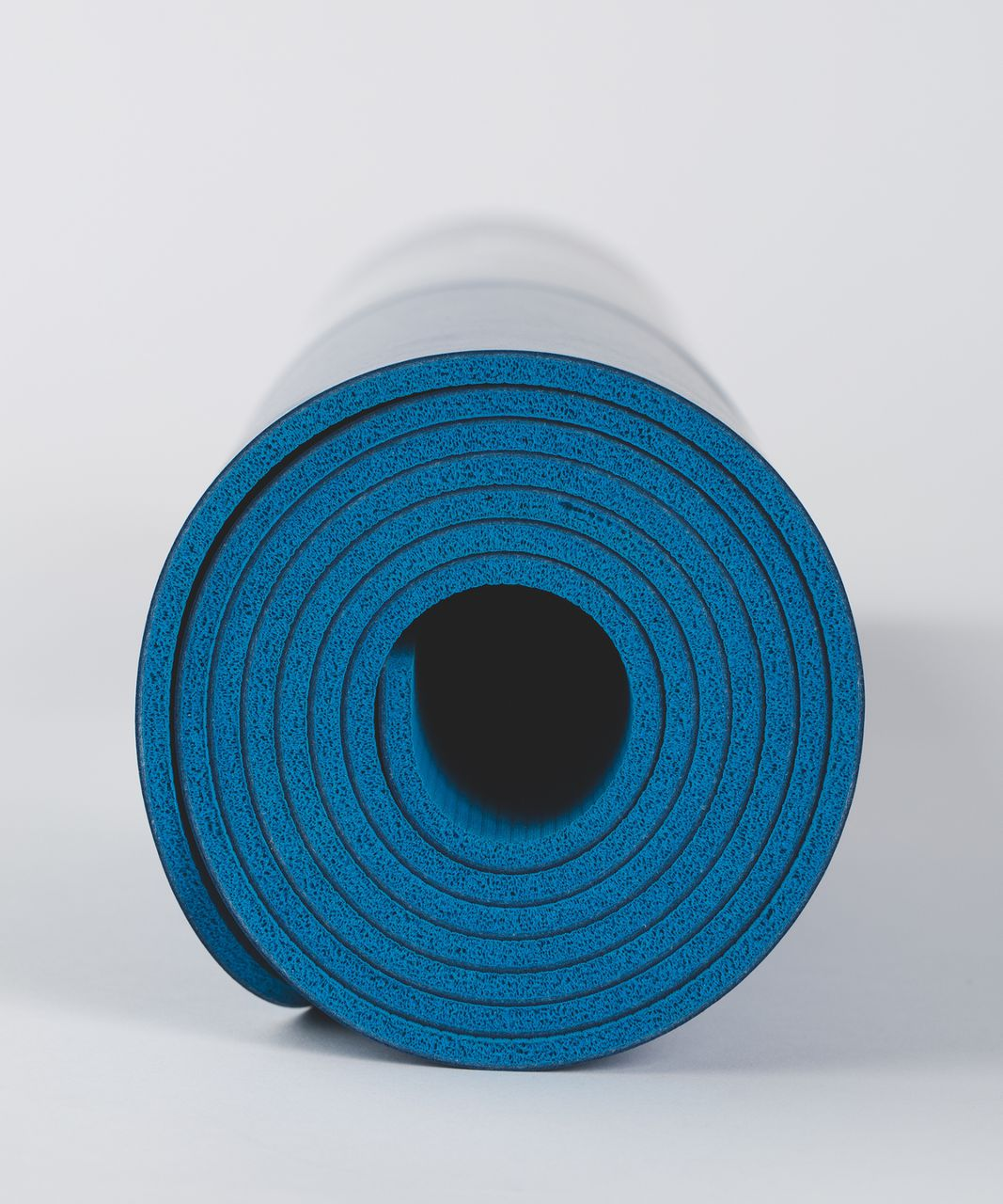 Lululemon The Reversible Mat 5mm - Jet Set Blue / White / Shocking Blue