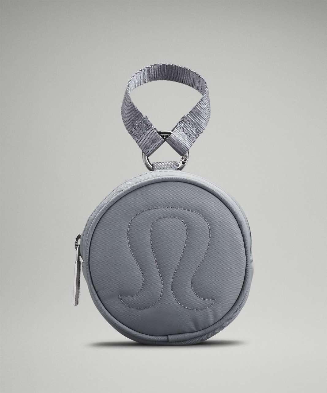 Lululemon Logo Coin Pouch - Rhino Grey
