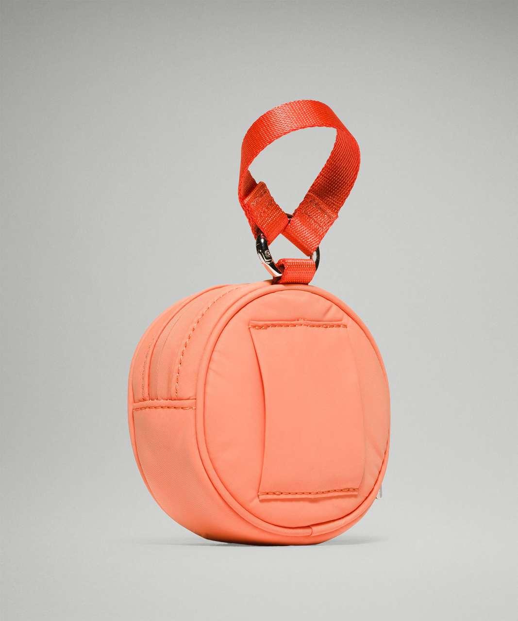 Lululemon Logo Coin Pouch - Golden Apricot / Warm Coral